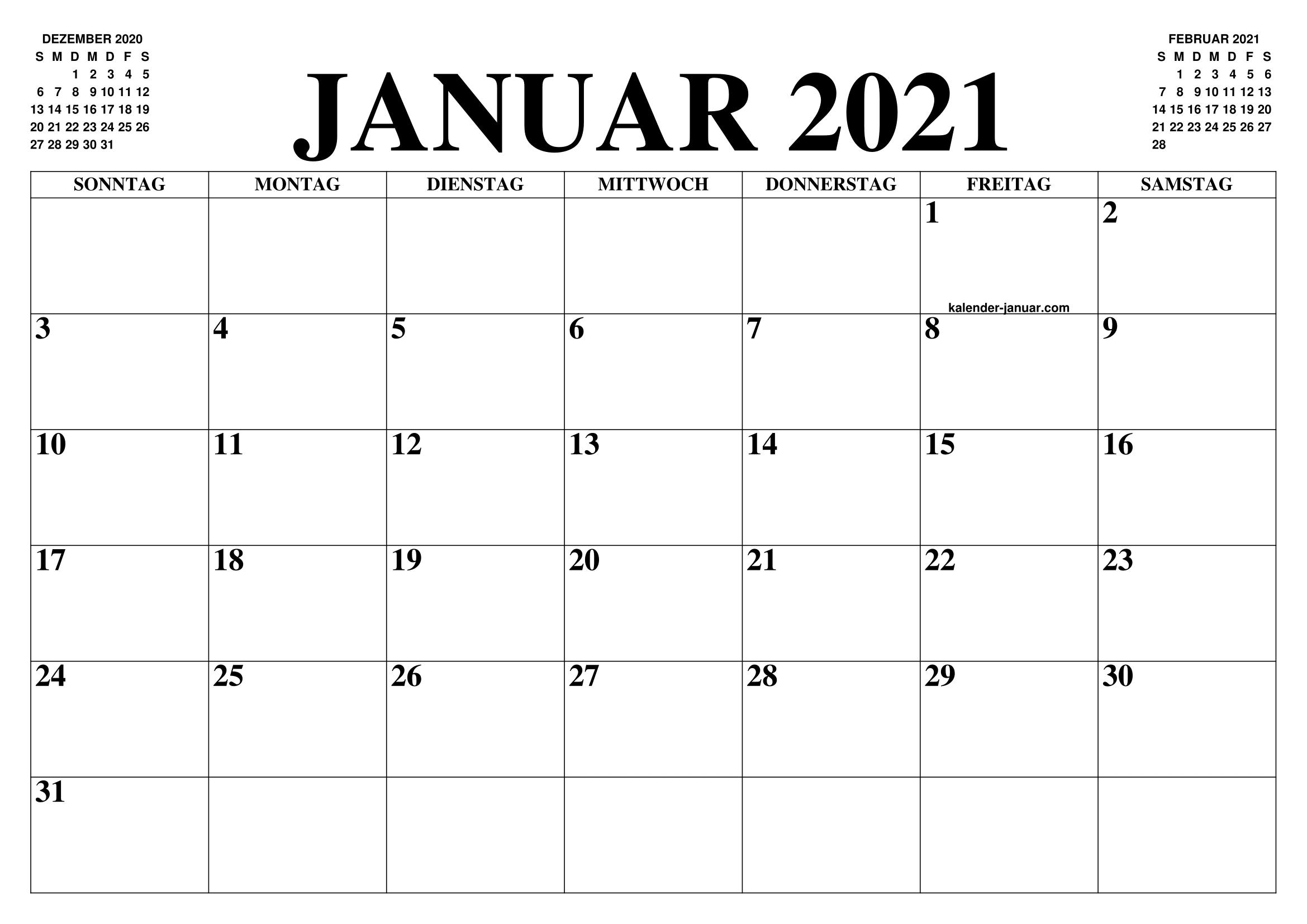 Arbeitstage Januar